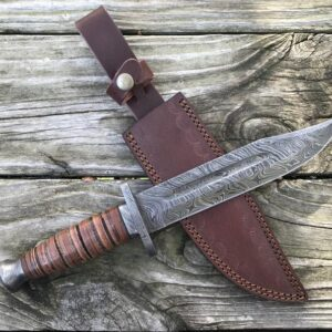 Damascus Kabar - Damascus Hunting Knife HK-01
