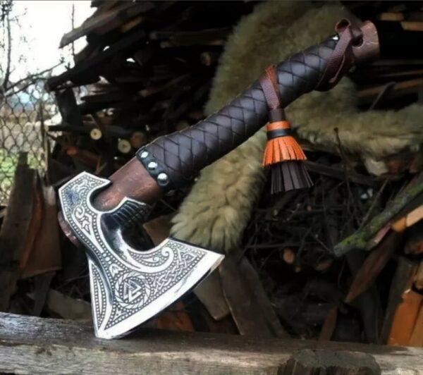 Hand Forged Custom Viking Axe AX-11
