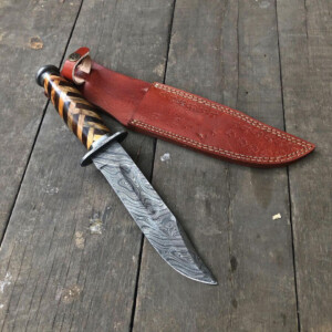 Damascus Kabar - Buy Damascus Hunting Ka-bar HK-03 -01